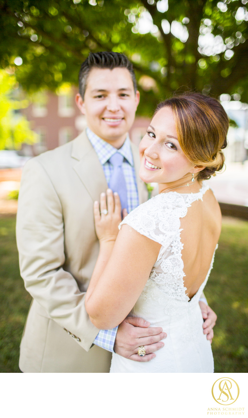 Calvert House Annapolis Wedding