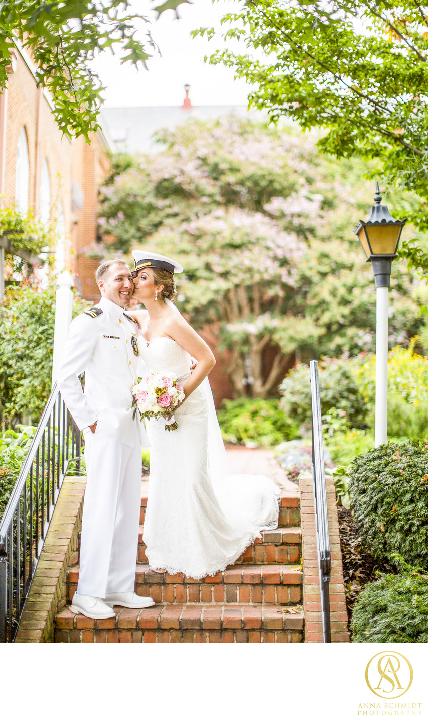 St Mary's Church Annapolis Wedding