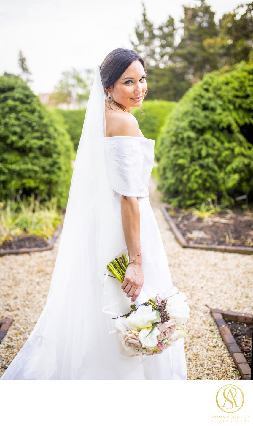 William Paca House Garden Wedding