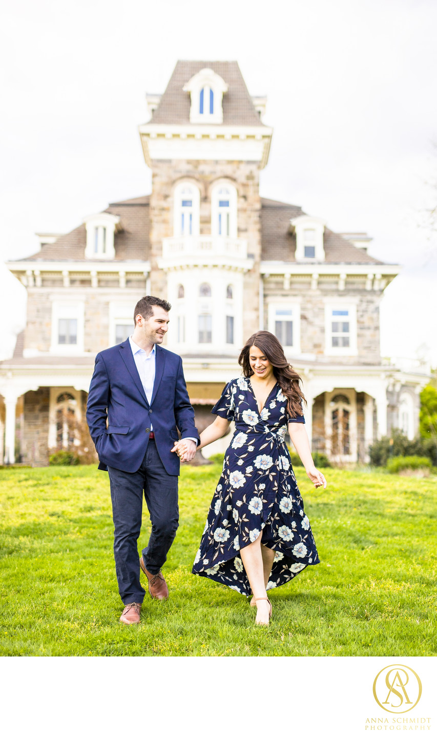 Cylburn Arboretum Mansion Engagement