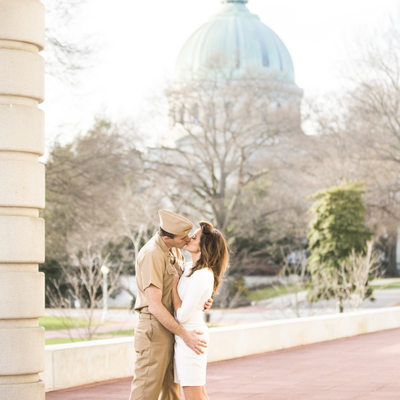 Naval Academy Engagement