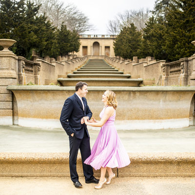 Meridian Hill Park Engagement Photos