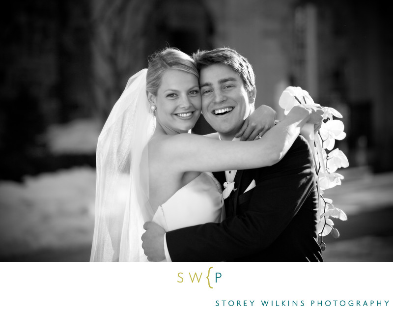 Bride and Groom Portrait at Graydon Hall Manor Wedding
