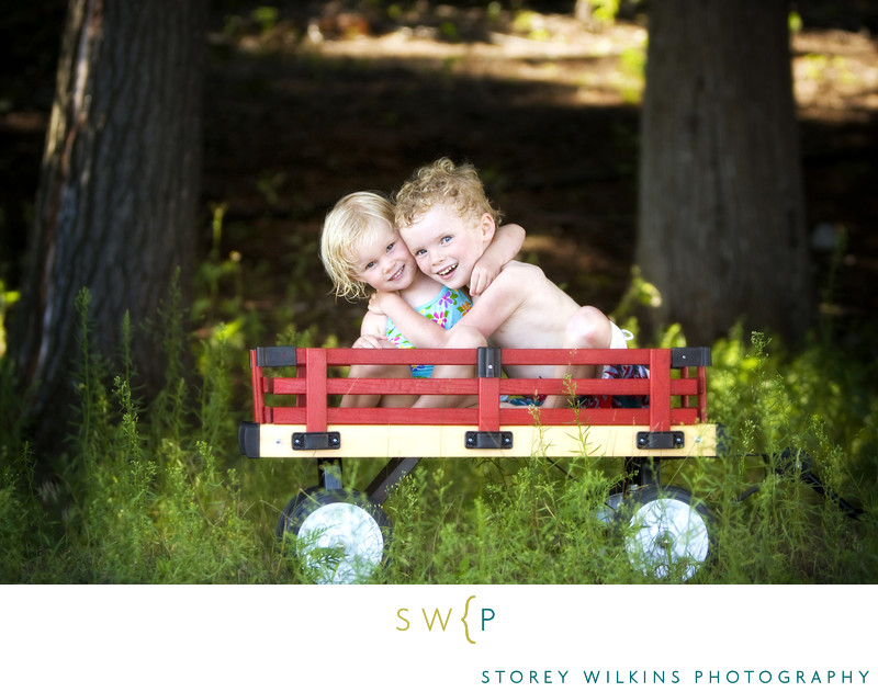 Storey Wilkins Photography Childrens Portraits at the Cottage