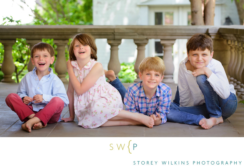 Four Siblings Photograph by Storey Wilkins