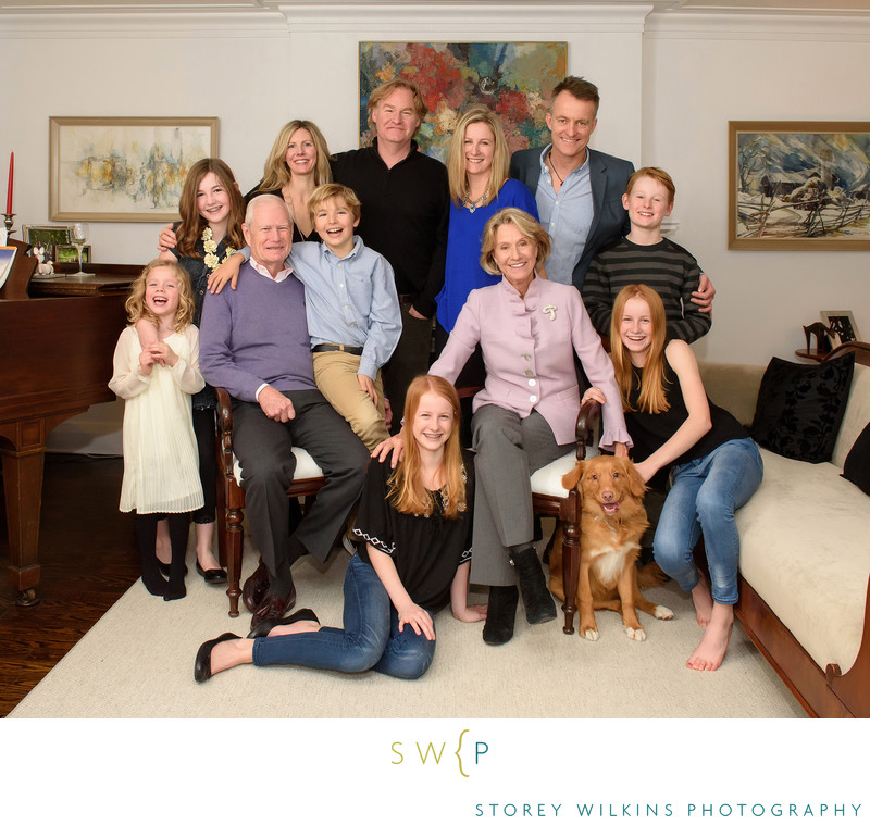 Storey Wilkins Family Portrait Photography