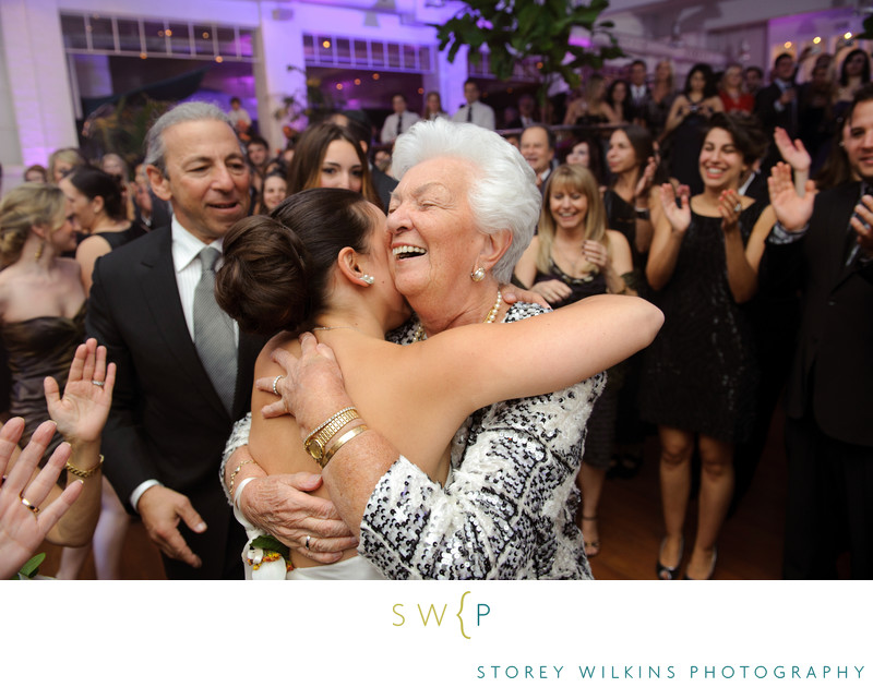 Toronto Wedding Photography Grandmothers Reaction