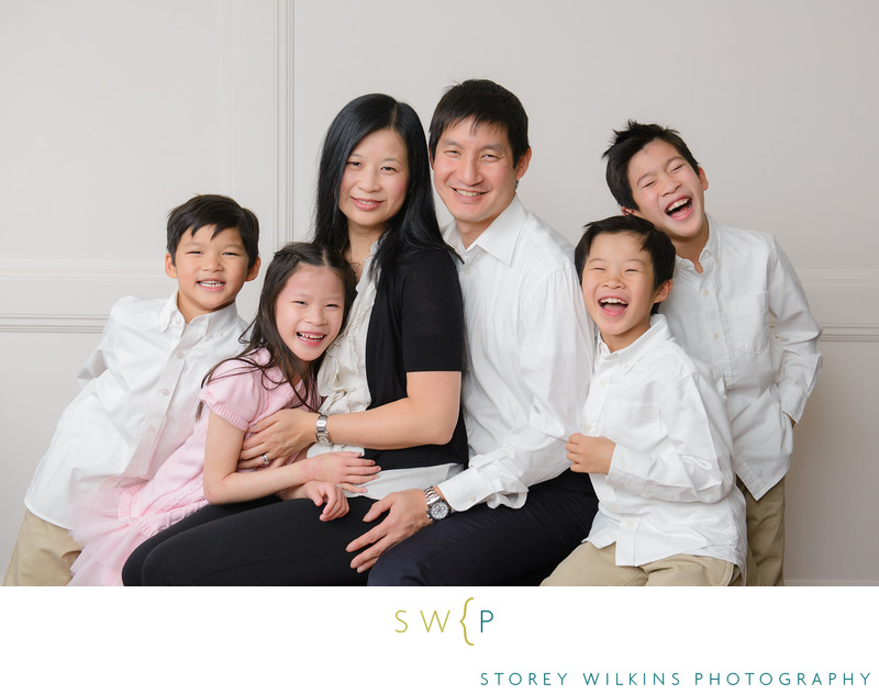 Winter Family Photo Session for Great Indoor Portraits