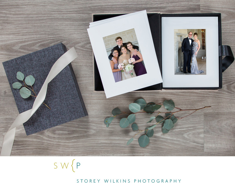 Wedding Day Memories Matted Prints in a Box