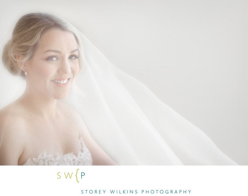 Toronto Wedding Bridal Portrait by Storey Wilkins