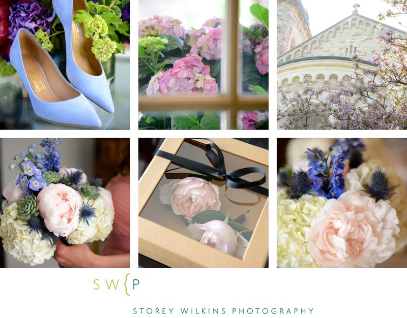 Soft Pink Floral Bliss by Storey Wilkins Photography