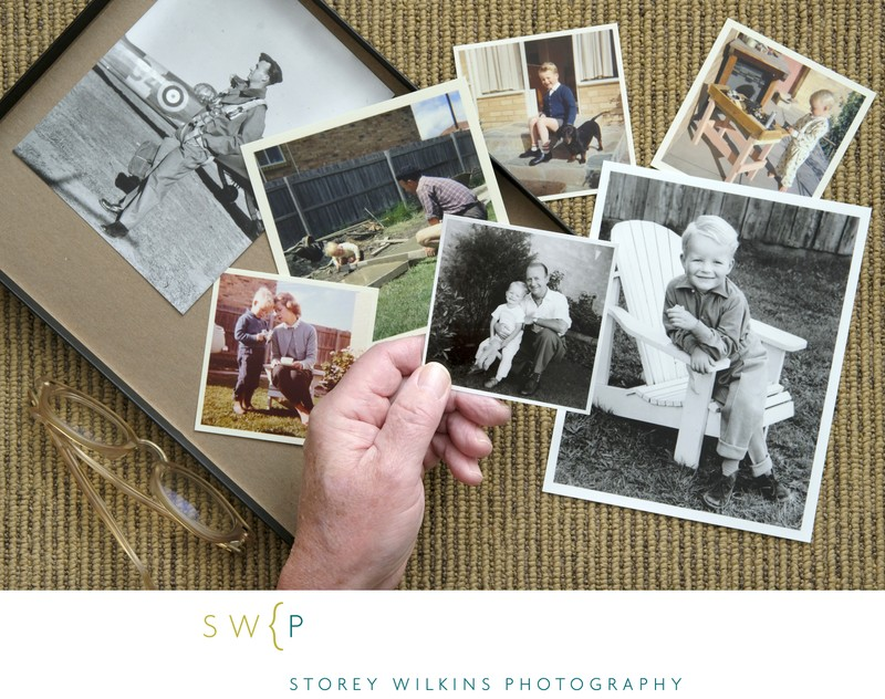 The Family Shoe Box that Holds our Treasured Photos