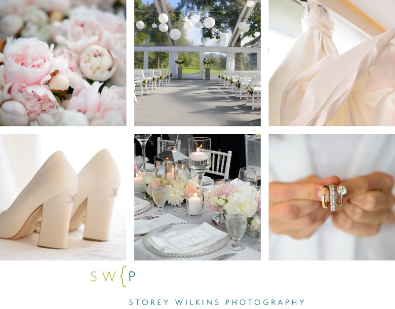 Design and Decor Inspiration for White Weddings