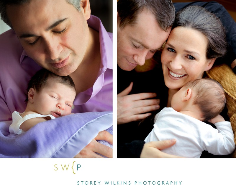 Modern Documentary Newborn Photography in Toronto