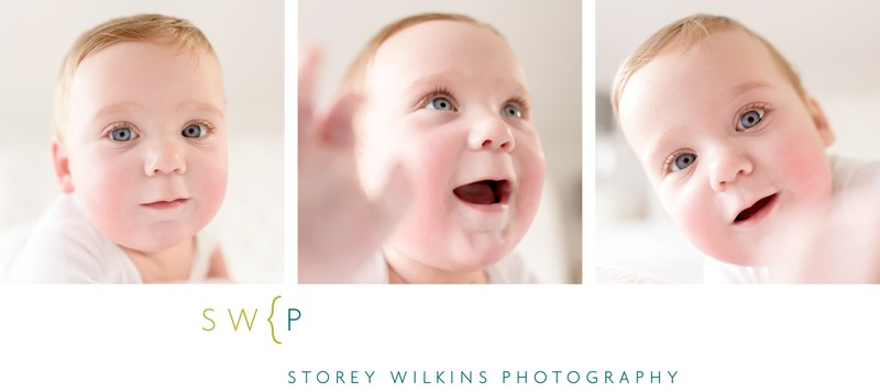 Super Close Baby Photography Session by Storey Wilkins