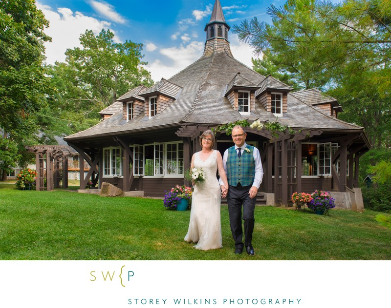 Professional Photos for DIY Wedding at Sturgeon Point