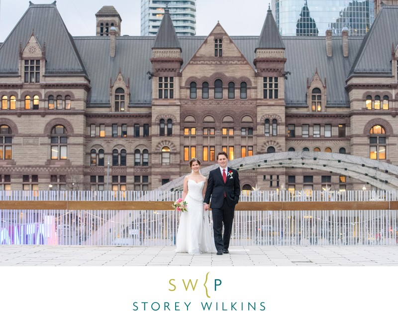 Old City Hall Wedding Photography Toronto