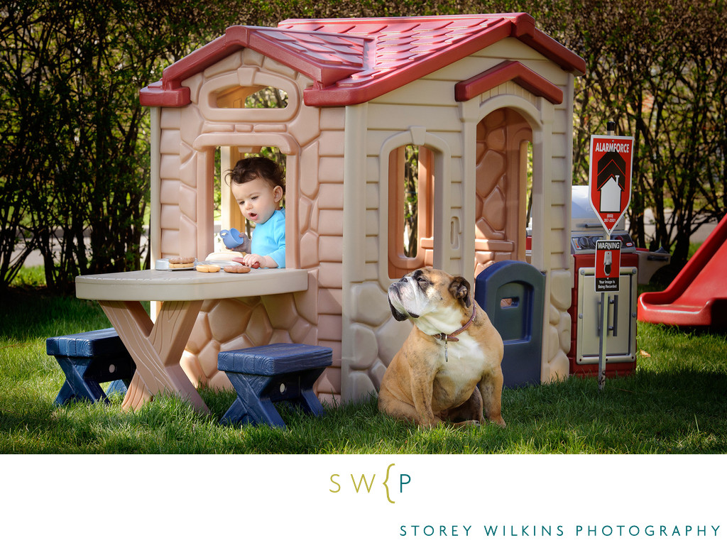 Toronto Family Portraits in your Garden Storey Wilkins