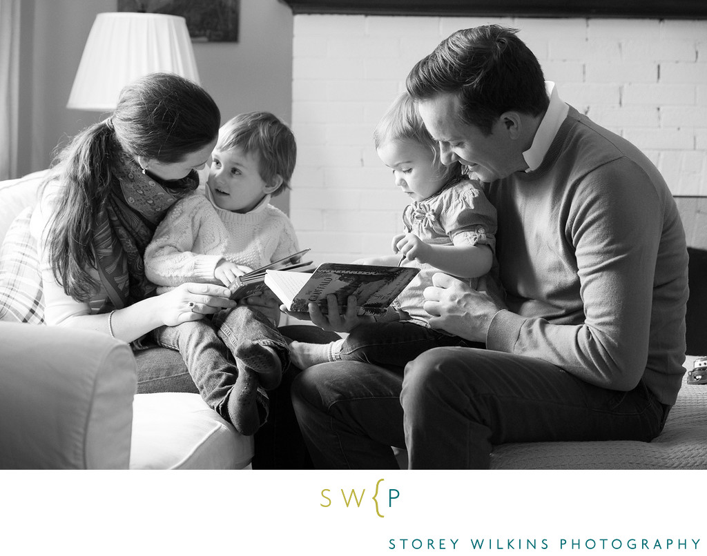 Great Family Photos:  Story Time by Storey Wilkins