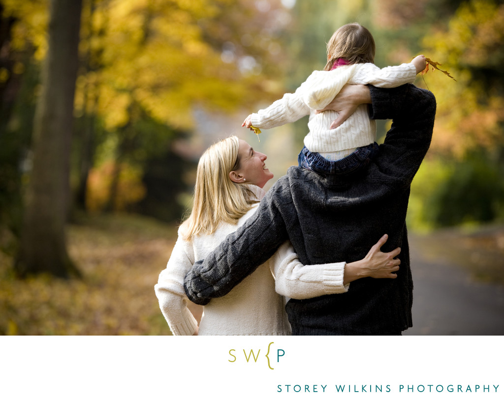 Oakville Fall Colours Lifestyle Family Photography