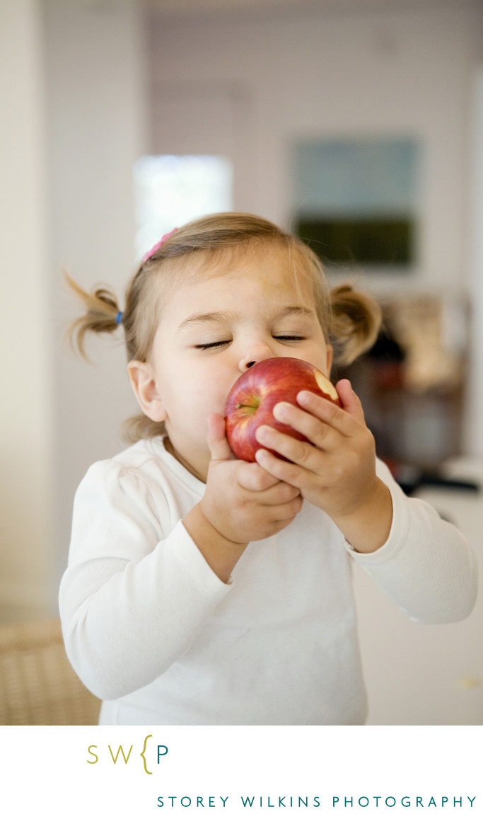 Storey Wilkins Photography An Apple a Day