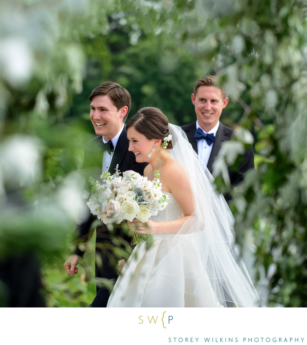 Wedding Recessional Niagara on-the Lake Riverbend Inn