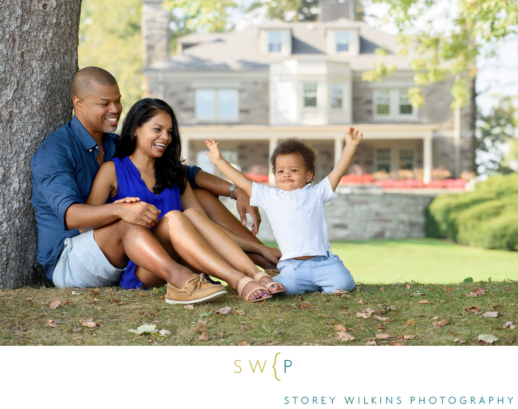 Paletta Mansion Family Photograph Uplifting and Fun