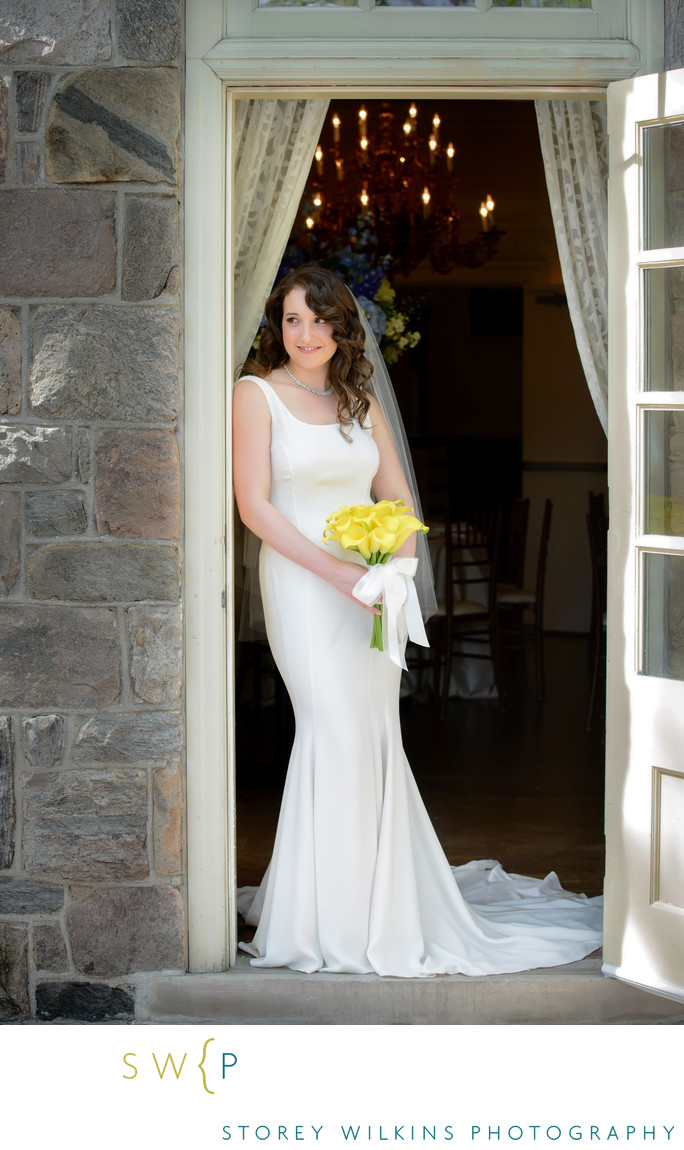 Portrait of a Bride at Graydon Hall Toronto