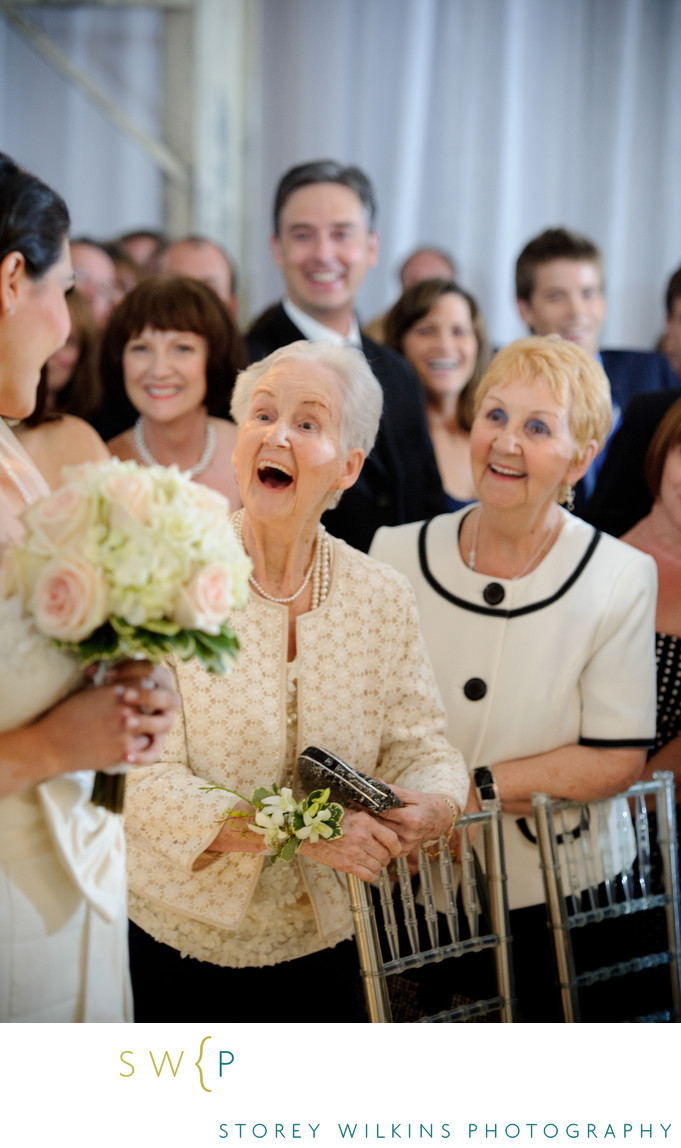 Toronto Wedding Photography Grandmothers Joy