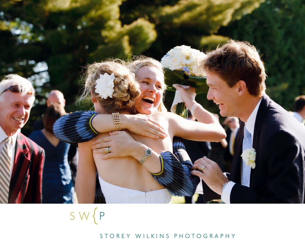 Beaumaris Yacht Club Wedding Candid Photograph