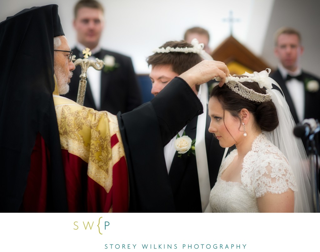 All Saints Greek Orthodox Church Wedding Ceremony