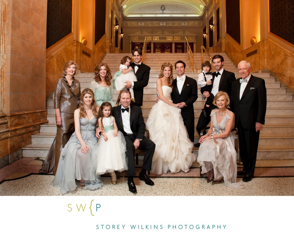 Family Portraits on your Wedding Day