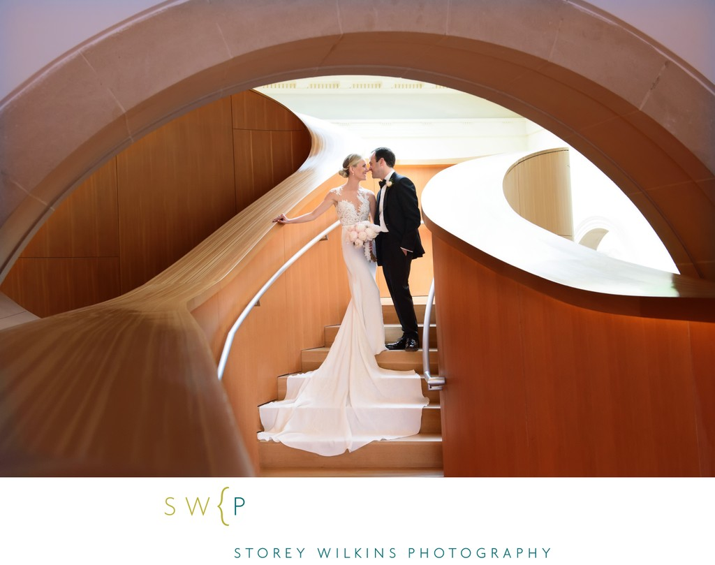 Art Gallery of Ontario Wedding in Walker Court