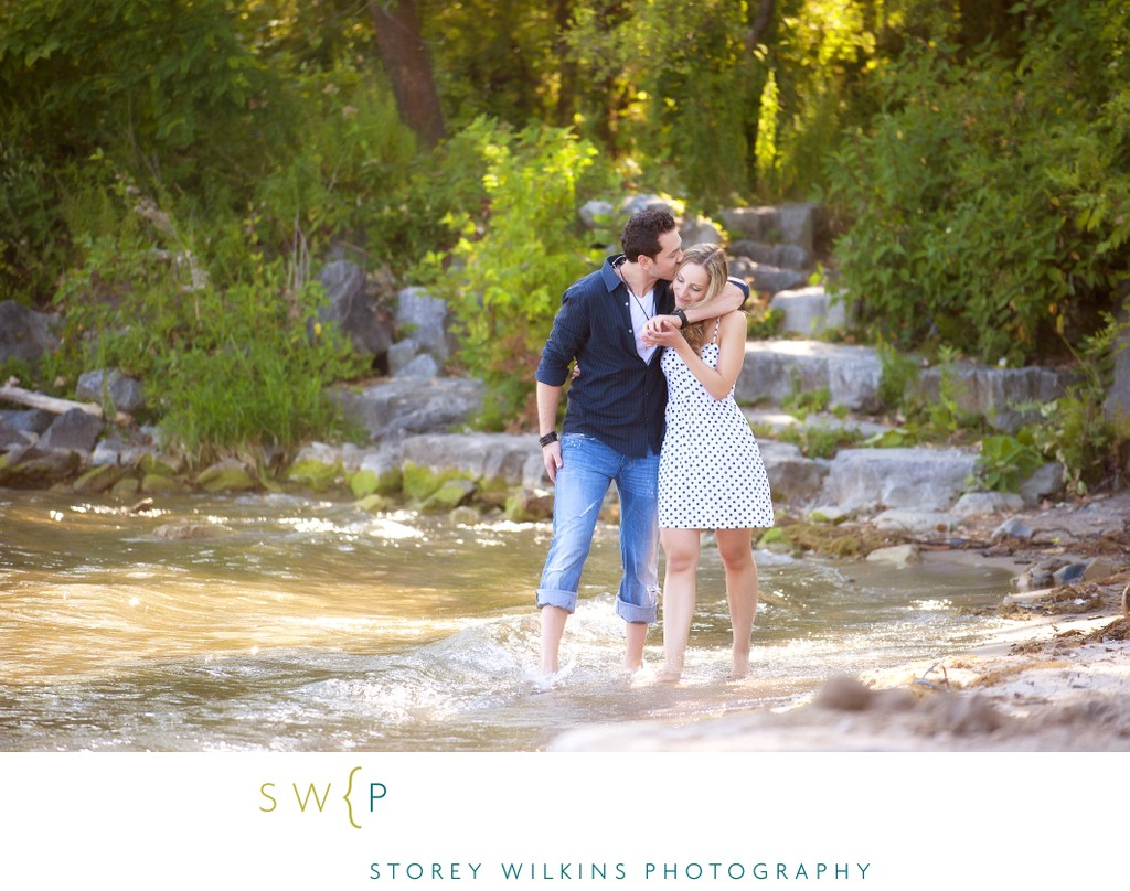 Romantic Engagement Portrait by Toronto Photographer