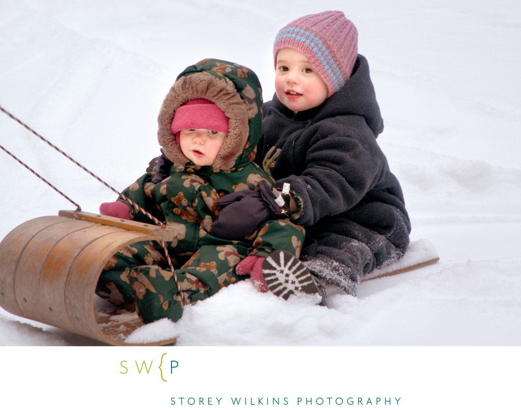 Toronto Winter Family Photos | Day-in-the-Life