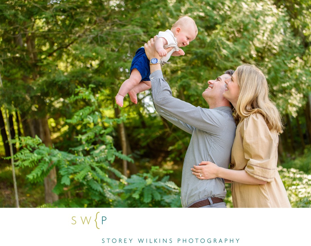 Cottage Family Portrait Session with Beautiful Moments