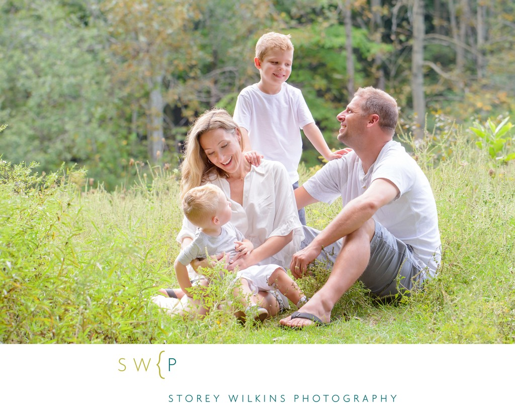 Summer Family Photography | Outdoor Portraits