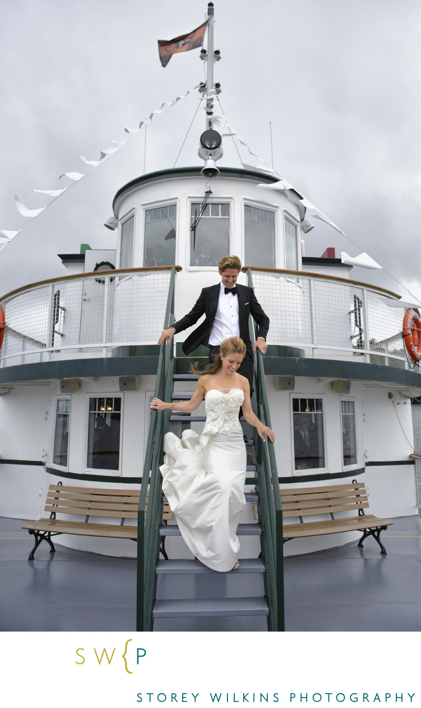 Muskoka Wedding Photography on The Wenonah II