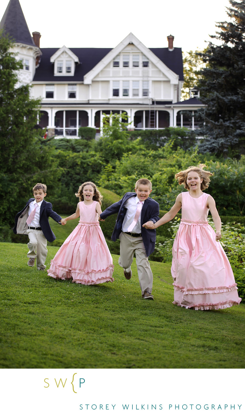 Caledon Mountain Wedding: Flower Girls and Ring Bearers