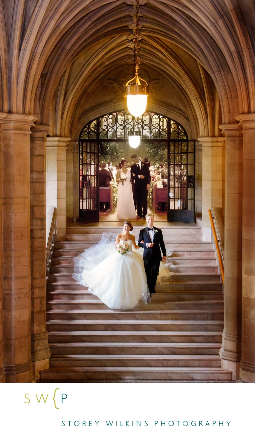 Knox College University of Toronto Wedding Recessional