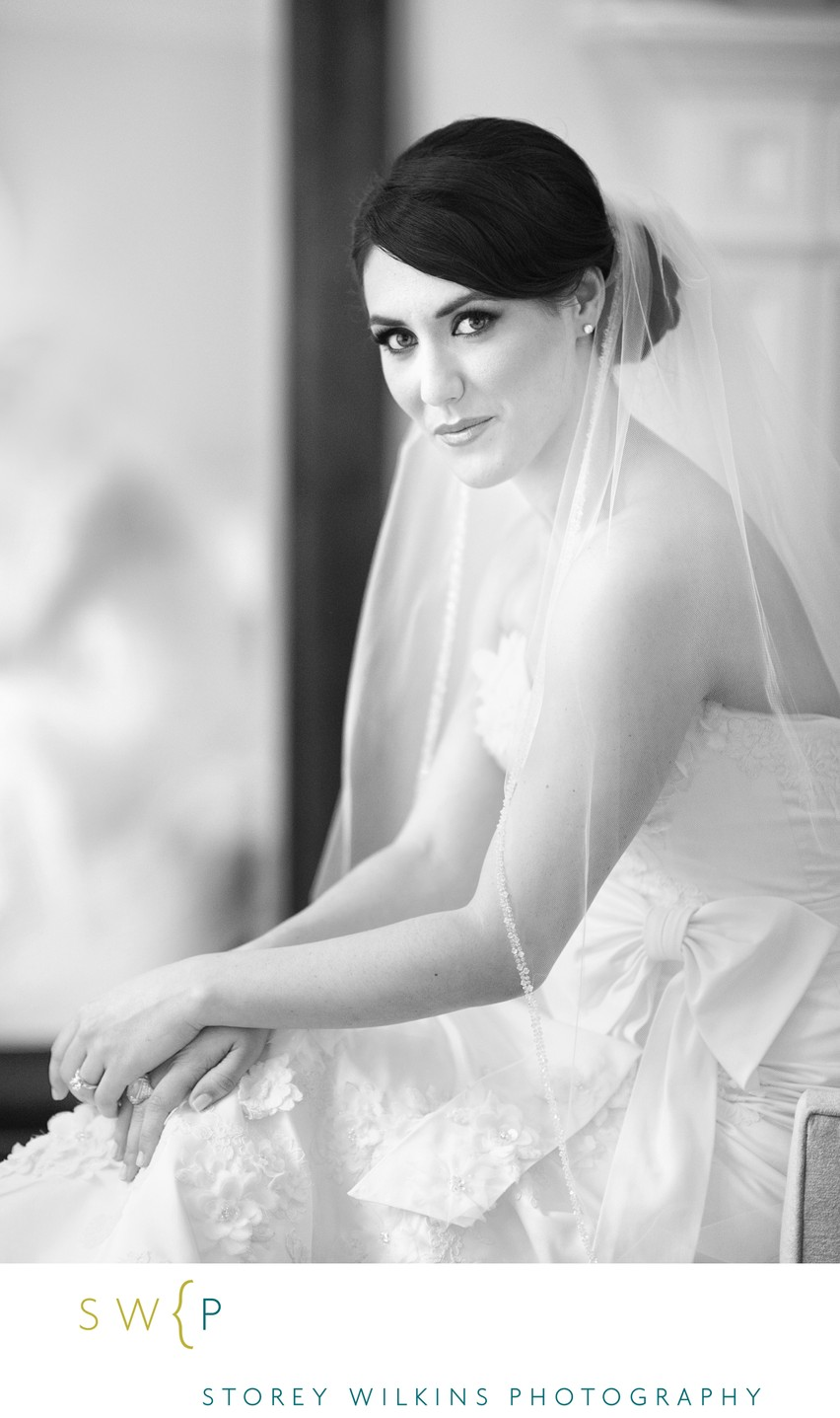Toronto Elegant Bridal Portrait Photo by Storey Wilkins