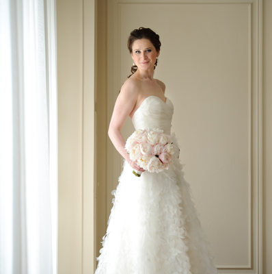 Bridal Portrait by Window by Storey Wilkins