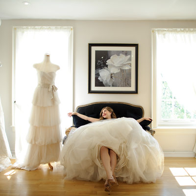 Toronto Wedding Photography Bridal Salon