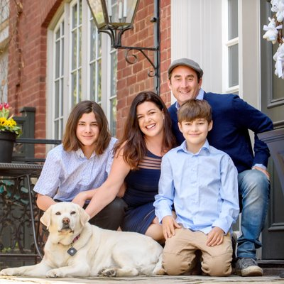 Family Porch Portraits in Rosedale