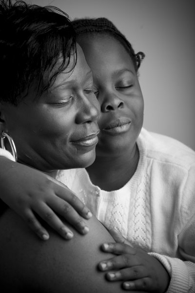 Toronto Mother and Daughter Portrait:  Cherished Bond