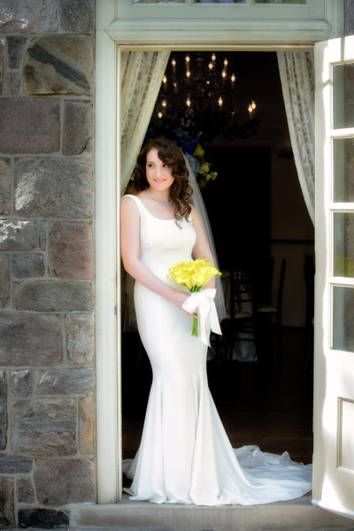 Portrait of a Bride at Graydon Hall Manor in Toronto