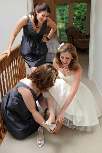 Getting Ready at Home in Toronto on your Wedding Day