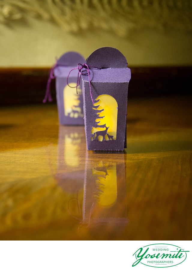 Tiny Lantern Gifts At Majestic Yosemite Hotel Reception