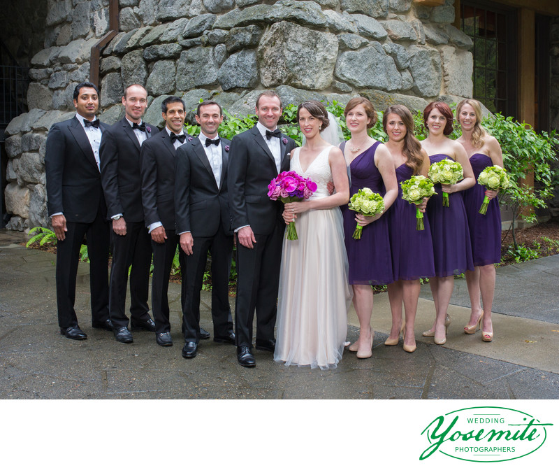 Wedding Party at Majestic Yosemite
