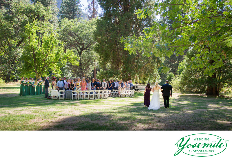 wedding processional majestic yosemite hotel